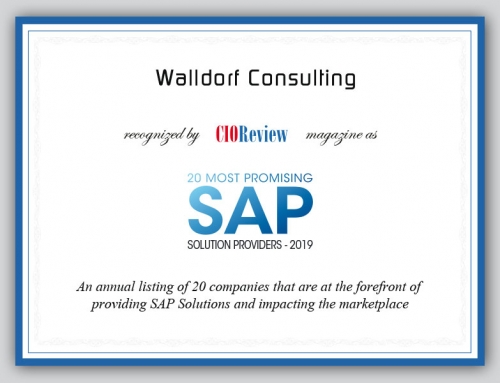 Walldorf Consulting unter den 20 besten SAP-Solution-Providern